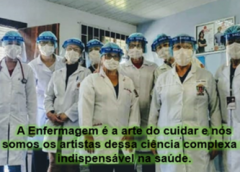 O Sismec parabeniza a todos os  profissionais da Enfermagem!