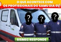 ORIENTAÇÃO AOS PROFISSIONAIS DO SAMU